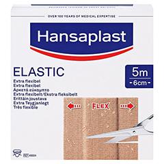 Hansaplast Elastic Pflaster 6 cmx5 m 1 Stück - Vorderseite
