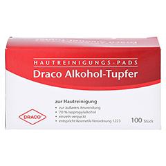 Alkoholtupfer einzeln verpackt 100 Stück - Vorderseite