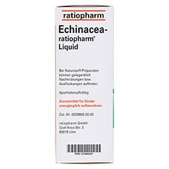 Echinacea-ratiopharm Liquid 100 Milliliter N3 - Rechte Seite