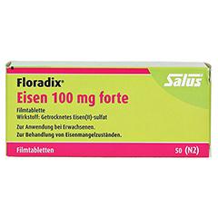 Floradix Eisen 100mg forte 50 Stück N2 - Vorderseite