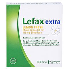 Lefax Extra Lemon Fresh 16 Stück - Vorderseite