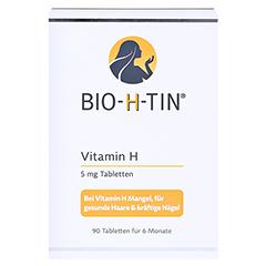 BIO-H-TIN Vitamin H 5mg 90 Stück - Vorderseite