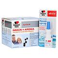 Doppelherz Immun+ Aronia system Ampullen 30 Stück + gratis Doppelherz Meerwasser Nasenspray 30 Stück