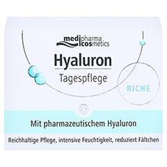 HYALURON TAGESPFLEGE riche Creme im Tiegel 50 Milliliter - Vorderseite