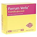 FERRUM VERLA Eisen II-gluconat überzogene Tab. 100 Stück N3