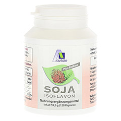 SOJA ISOFLAVON Kapseln 60 mg+E 120 Stück