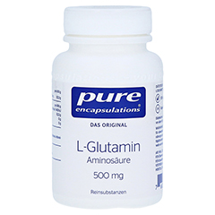PURE ENCAPSULATIONS L-Glutamin 500 mg Kapseln 90 Stück