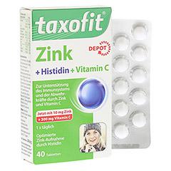 TAXOFIT Zink+Histidin mit Vitamin C Tabletten 40 Stück