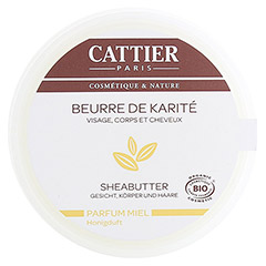 CATTIER Sheabutter Honigduft 100 Gramm