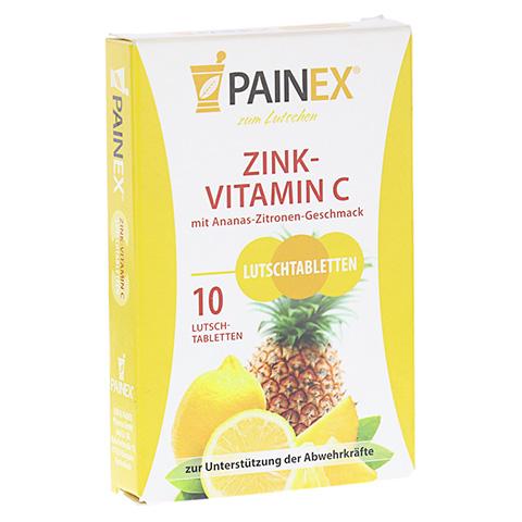 ZINK-VITAMIN C PAINEX 10 Stück