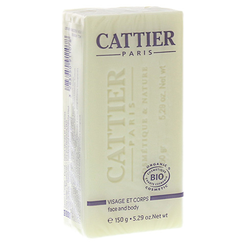 CATTIER Heilerde Seife trockene und sensible Haut 150 Gramm