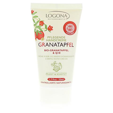 LOGONA pflegende Handcreme Granatapfel & Q10 50 Milliliter
