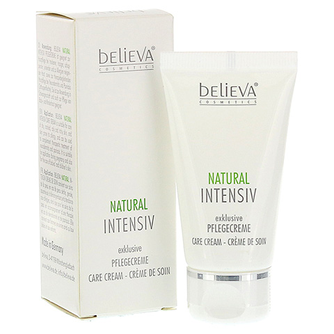 BELIEVA Natural Intensiv Creme 30 Milliliter