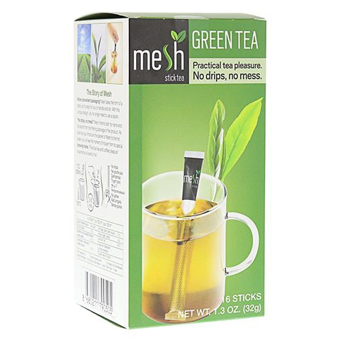 MESH stick grüner Tee 16 Stück