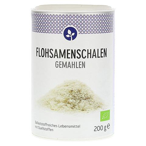 FLOHSAMENSCHALEN gemahlen Bio Pulver 200 Gramm