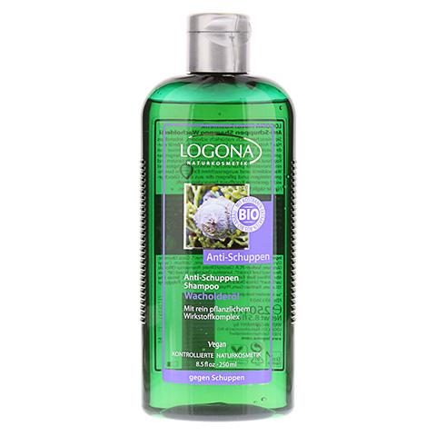 LOGONA Anti-Schuppen-Shampoo Wacholderöl 250 Milliliter