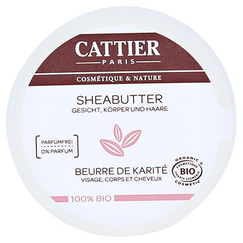 CATTIER Sheabutter 100% biologisch 100 Gramm