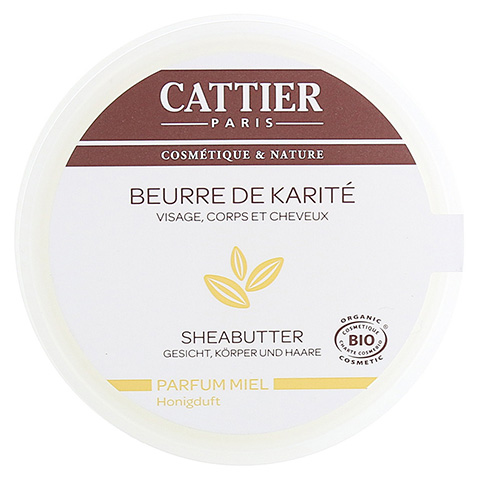 Cattier Sheabutter mit Honigduft 100 Gramm