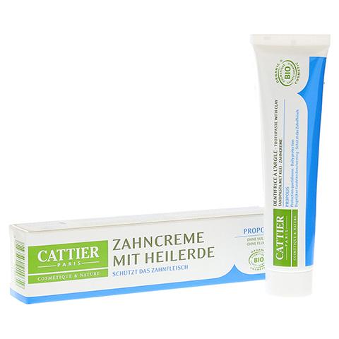 CATTIER Zahncreme mit Heilerde Propolis 75 Milliliter
