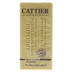 CATTIER Heilerde Seife normale bis Mischhaut 150 Gramm - Vorderseite