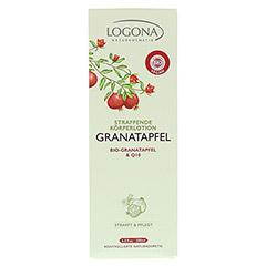 LOGONA straffende Körperlotion Granatapfel & Q10 200 Milliliter - Vorderseite