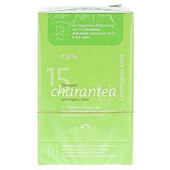 CHARANTEA Teebeutel Lemon/Mint 15 Stück - Vorderseite