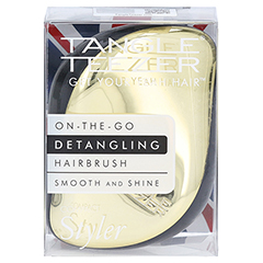 TANGLE Teezer Compact Styler Haarbürste gold 1 Stück - Vorderseite