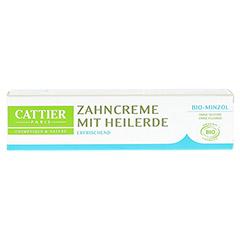 CATTIER Zahncreme mit Minze 75 Milliliter - Vorderseite