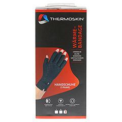 THERMOSKIN Wärmebandage Handschuhe L 2 Stück - Vorderseite