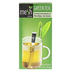 MESH stick grüner Tee 16 Stück - Vorderseite