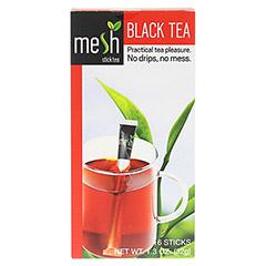 MESH stick schwarzer Tee 16 Stück - Vorderseite