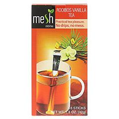 MESH stick Roibusch Tee Vanille 16 Stück - Vorderseite