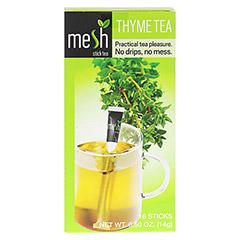 MESH stick Thymian Tee 16 Stück - Vorderseite
