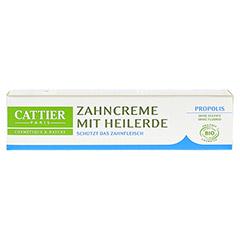 CATTIER Zahncreme mit Heilerde Propolis 75 Milliliter - Vorderseite