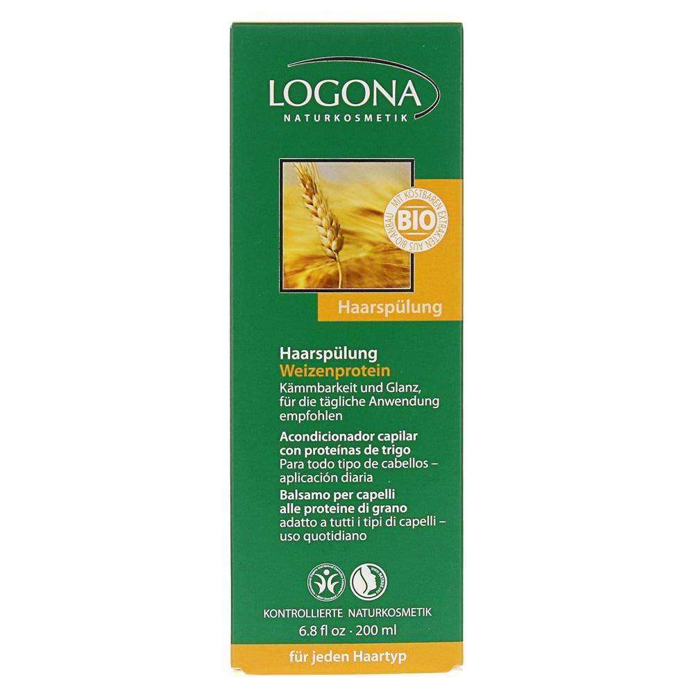 Erfahrungen Zu Logona Haarspülung Weizenprotein 200 Milliliter