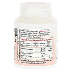 SOJA ISOFLAVON Kapseln 60 mg+E 120 Stück - Linke Seite