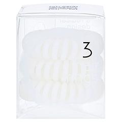 INVISIBOBBLE Haargummi Innocent white 3 Stück - Linke Seite