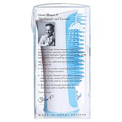 TANGLE Teezer Aqua Splash Haarbürste blau 1 Stück - Linke Seite