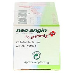 NEO ANGIN stimmig Plus Erdbeer Lutschtabletten 20 Stück - Linke Seite