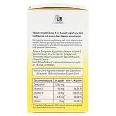 ZIMT KAPSELN 500 mg+Vitamin C+E 120 Stück - Linke Seite