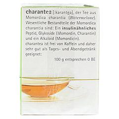 CHARANTEA Teebeutel Lemon/Mint 15 Stück - Rechte Seite