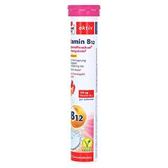DOPPELHERZ Vitamin B12 Brausetabletten 15 Stück - Rechte Seite