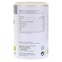 FLOHSAMENSCHALEN gemahlen Bio Pulver 200 Gramm - Rechte Seite