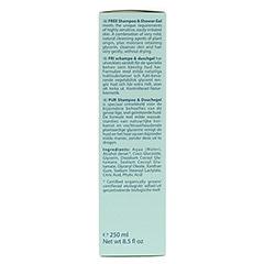 LOGONA PUR Shampoo & Duschgel 250 Milliliter - Rechte Seite