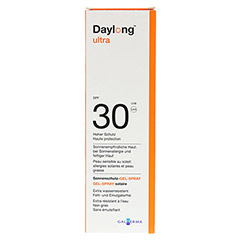 DAYLONG ultra SPF 30 Gel-Spray 150 Milliliter - Rückseite