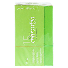 CHARANTEA Teebeutel Lemon/Mint 15 Stück - Rückseite