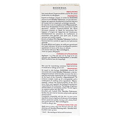 BIODERMA Sensibio Tolerance+ Creme 40 Milliliter - Rückseite