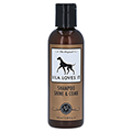 SHAMPOO SHINE & comb Fellglanz Lila loves it vet. 100 Milliliter