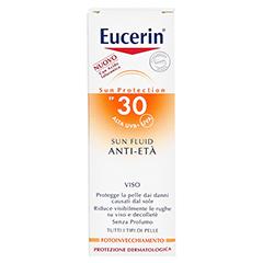 EUCERIN Sun Fluid Anti-Age LSF 30 50 Milliliter - Rückseite