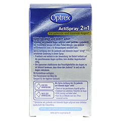 OPTREX ActiSpray 2in1 f.juckende+tränende Augen 10 Milliliter - Rückseite